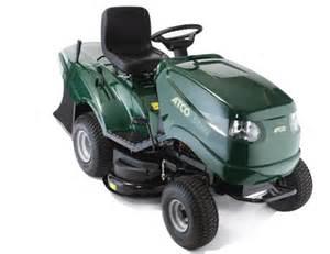 Atco ride on mower