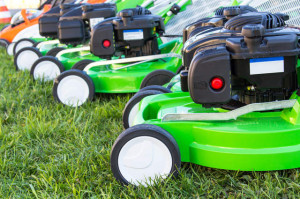Lawnmower service in Lancashire