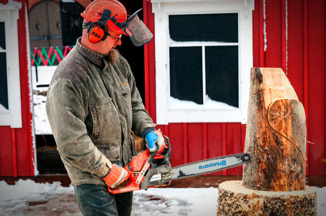 Husqvarna chainsaw image by Evannovostro (via Shutterstock).