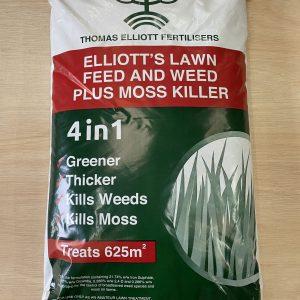 Fertiliser,Weed and Moss Killer